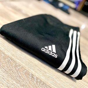 Adidas Track Pant Joggers Black+ White 3-Stripe XS